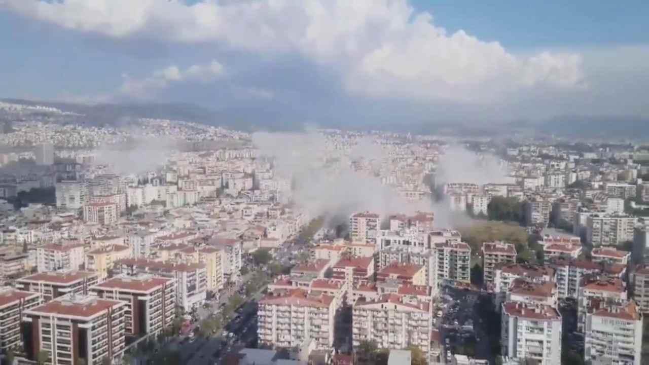 Terremoto Grecia e Turchia