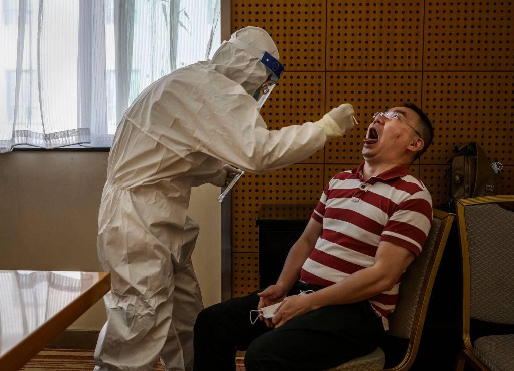 test saliva coronavirus
