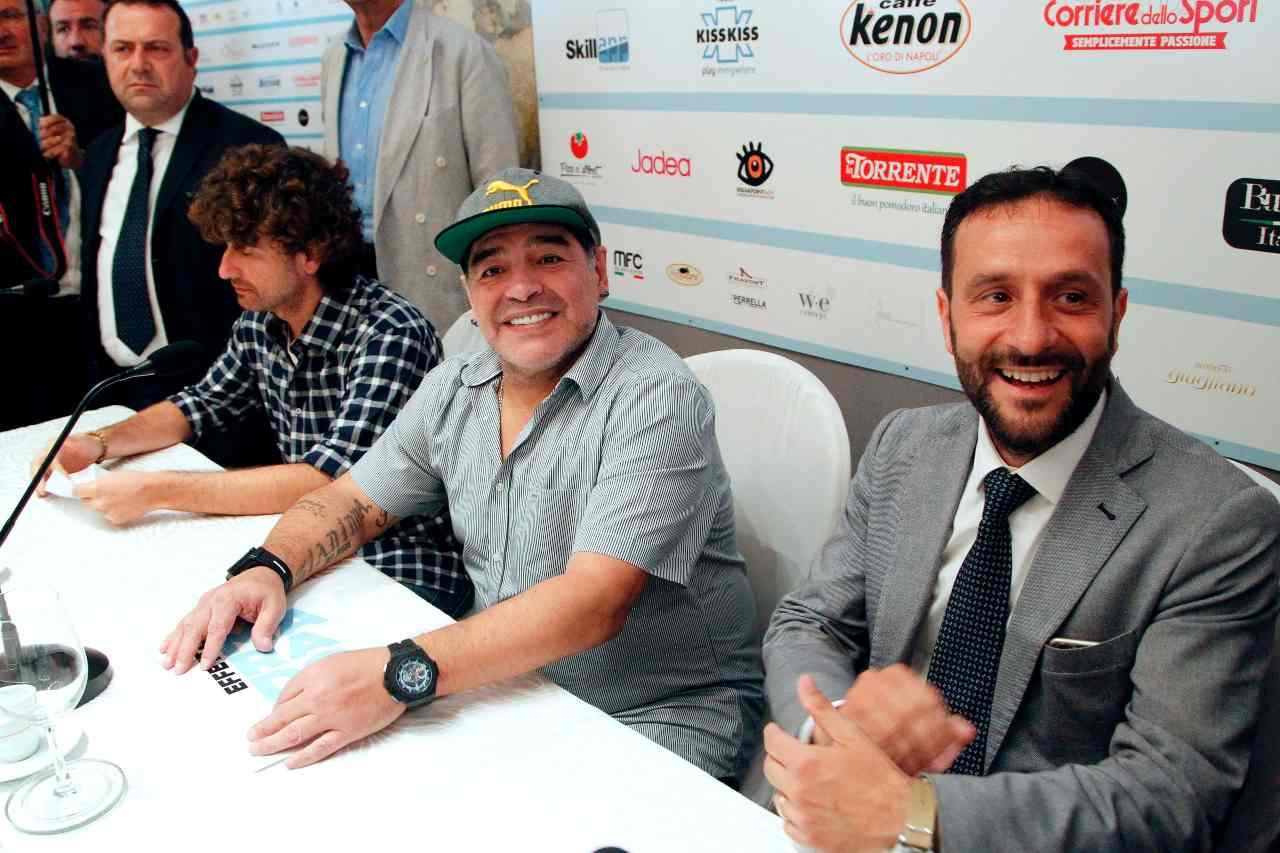 Ciro Borriello sulla morte di Maradona