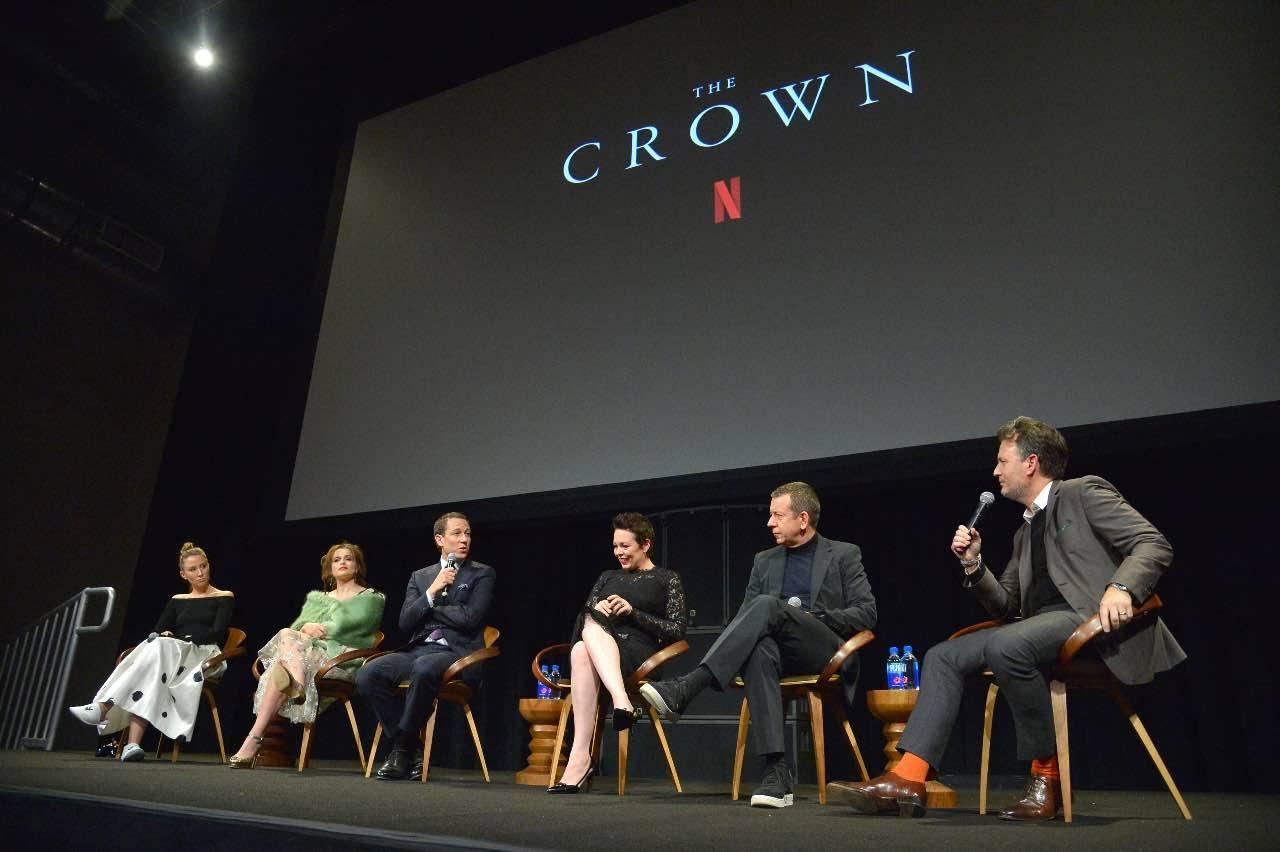 The Crown, serie TV su Netflix