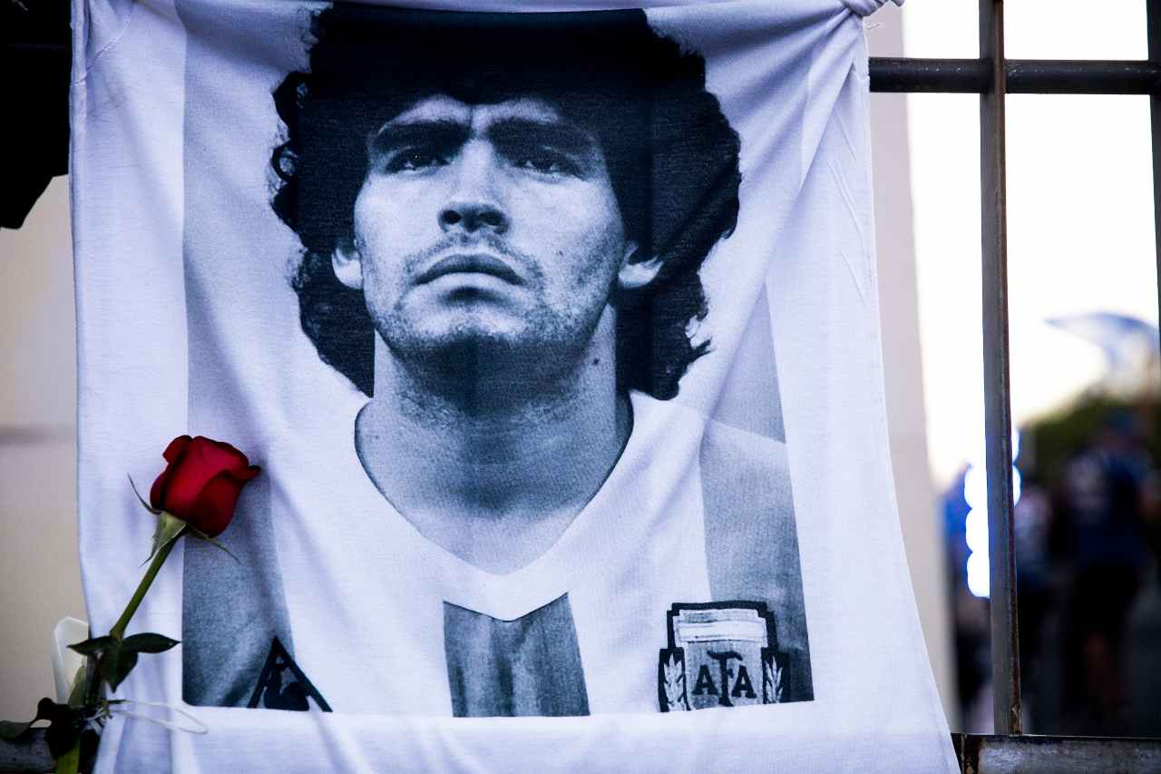 Decesso Maradona