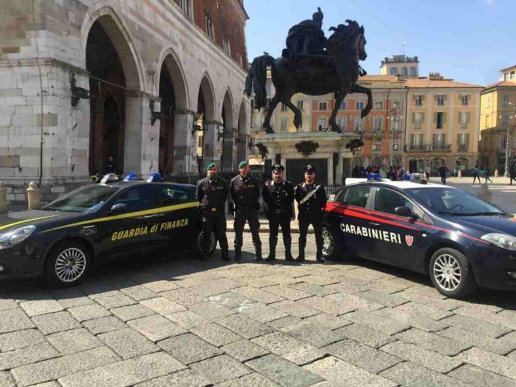 GdF e Carabinieri