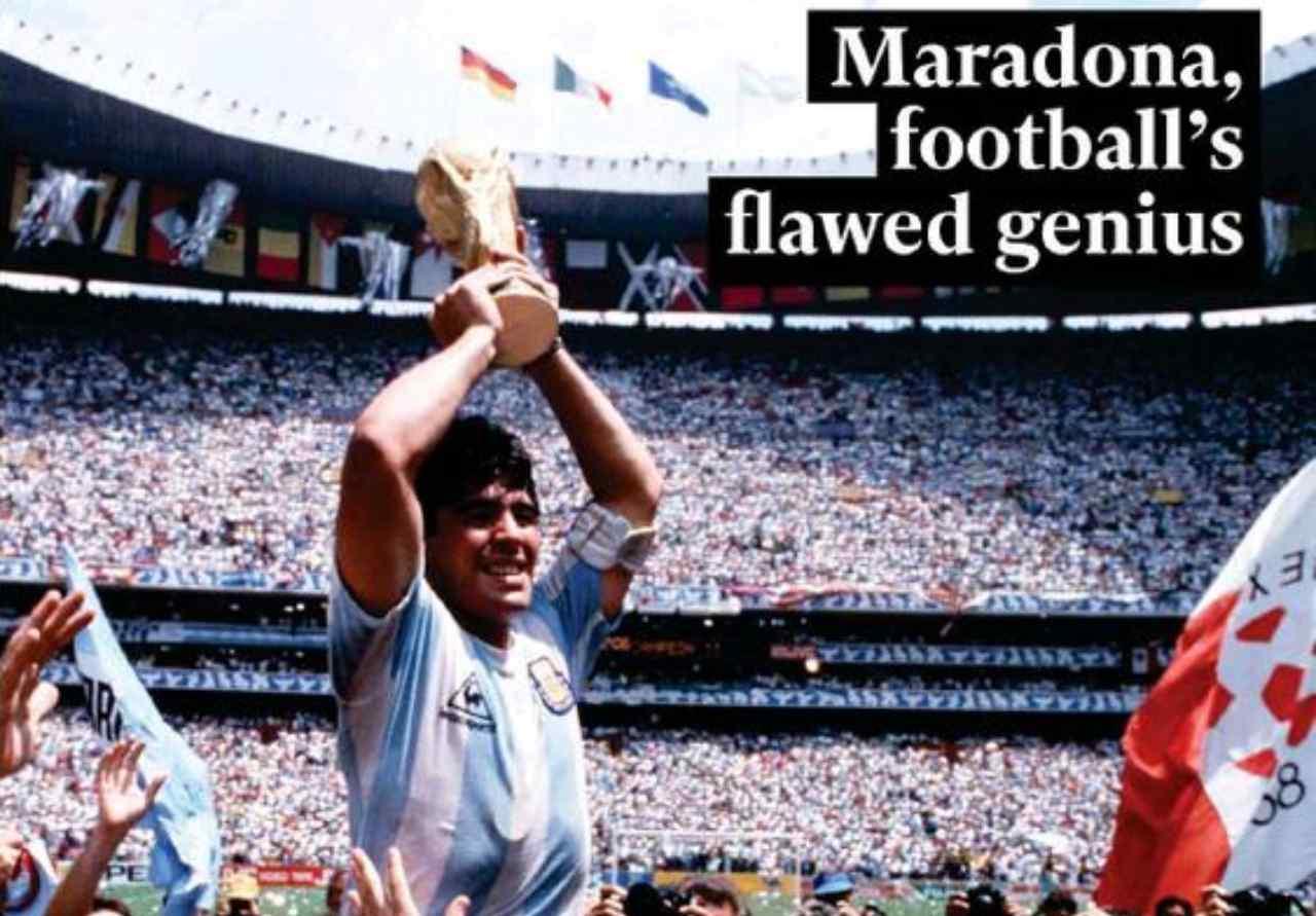 Maradona stampa