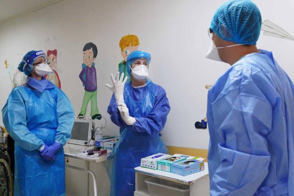 Ospedale bambini Covid