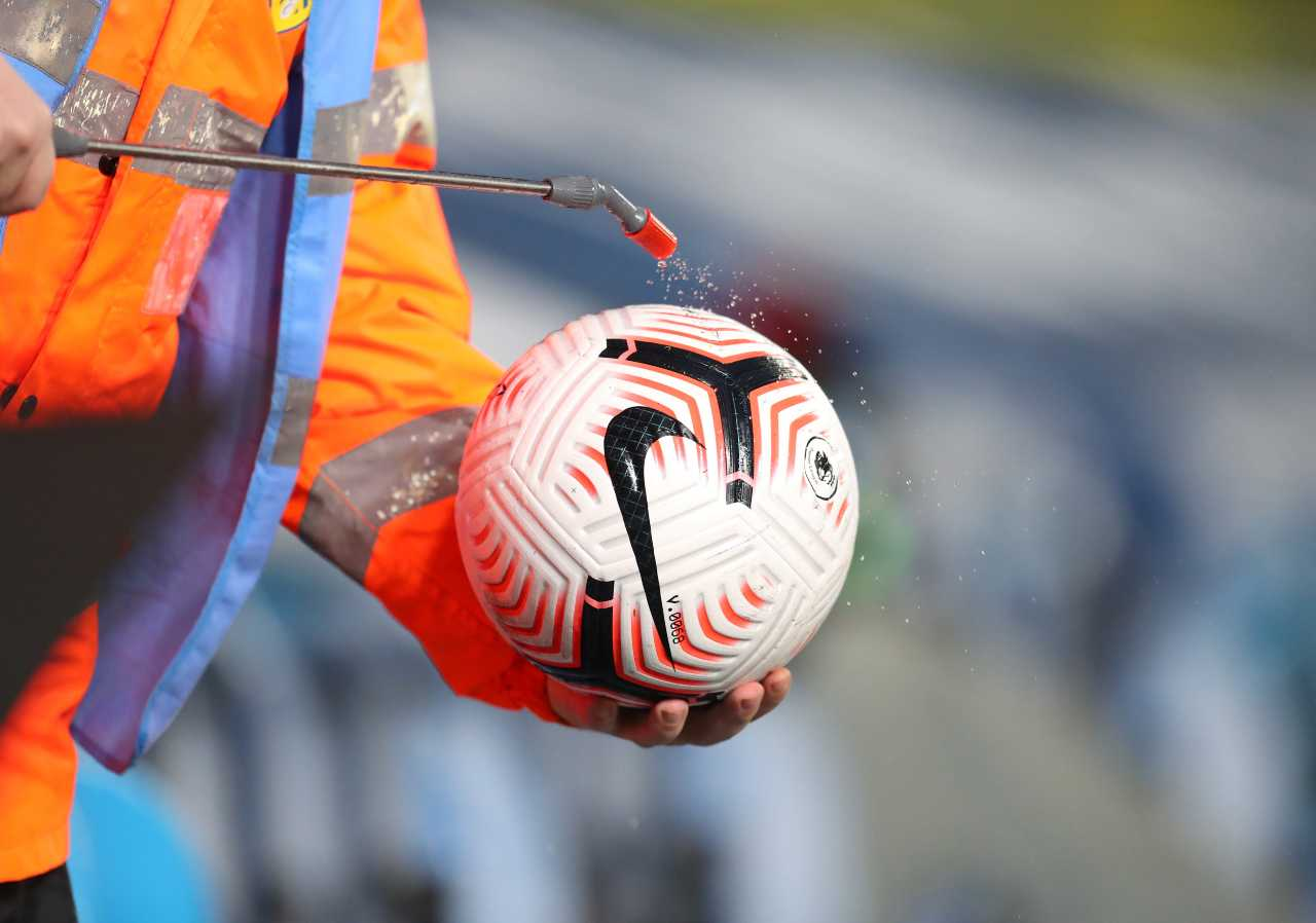 Sanificazione pallone