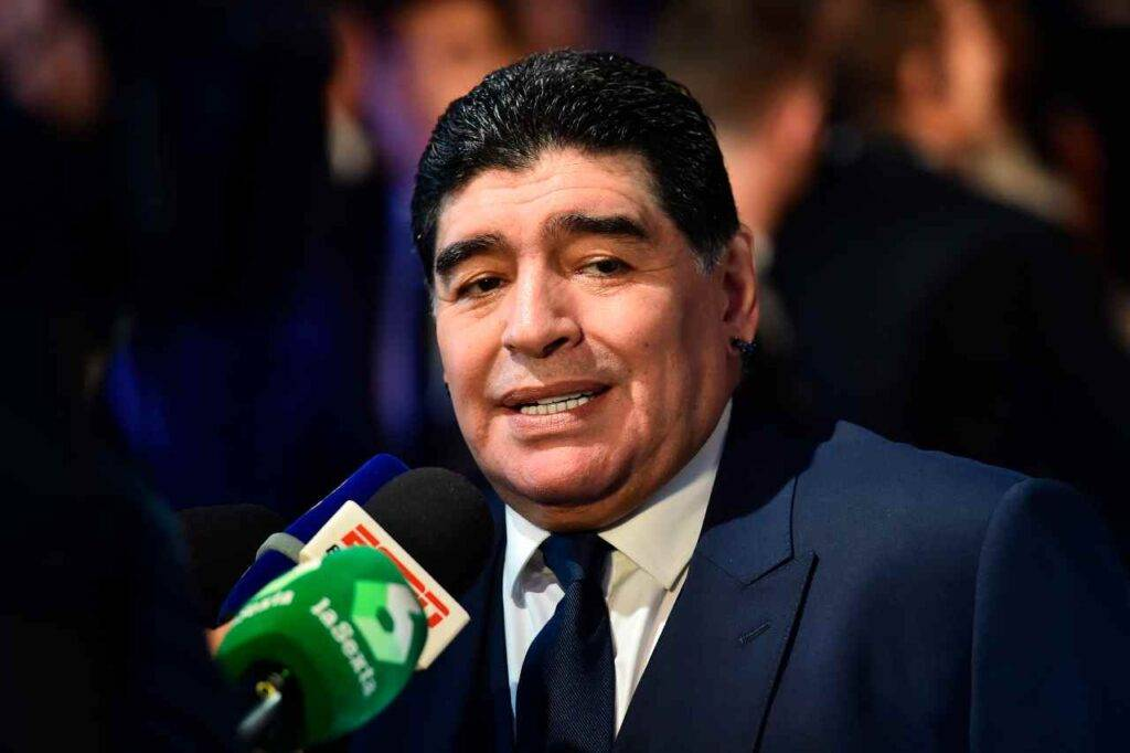 Giornalista Maradona