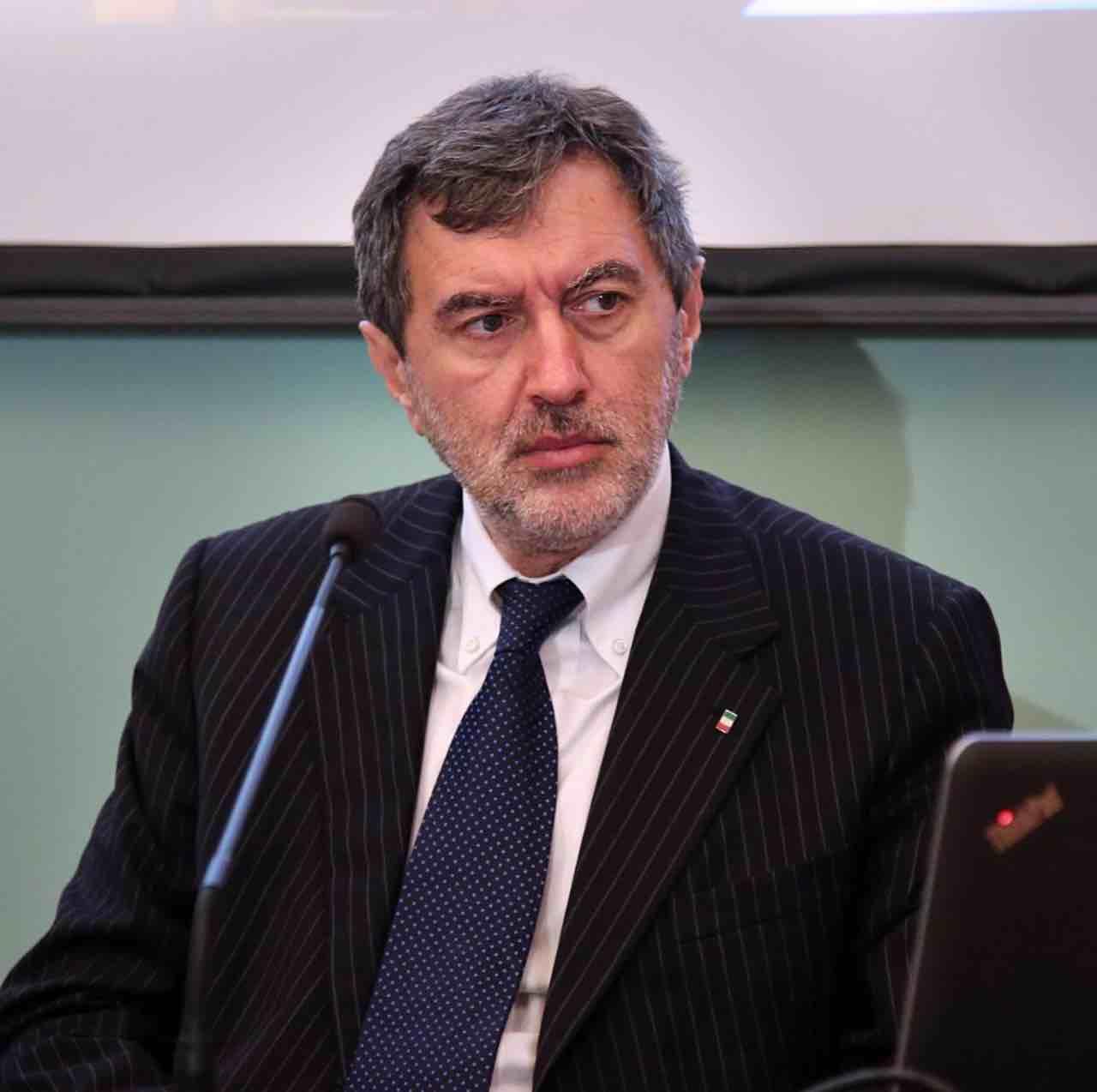 Marco Marsilio, presidente della Regione Abruzzo