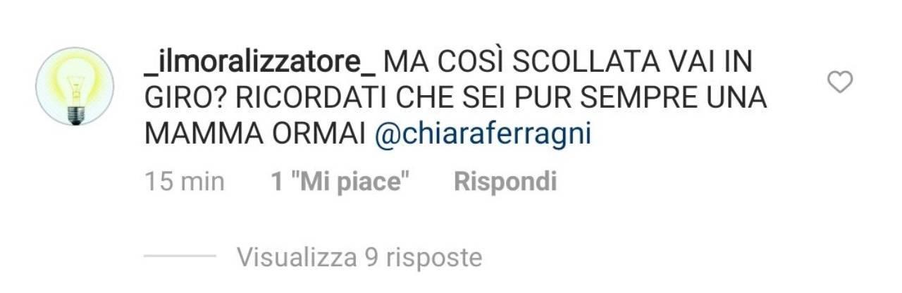 Chiara Ferragni, critiche sull'ultimo post