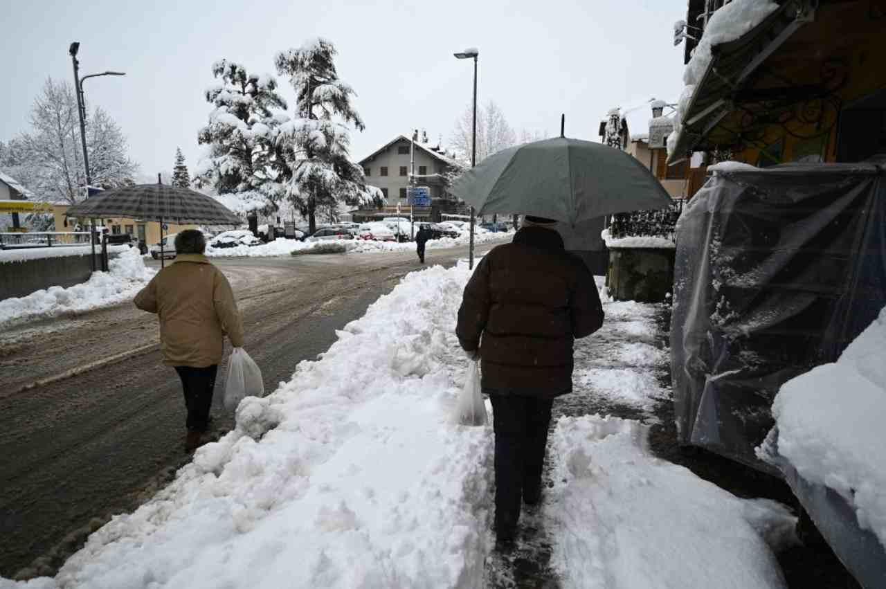 Meteo Neve maltempo