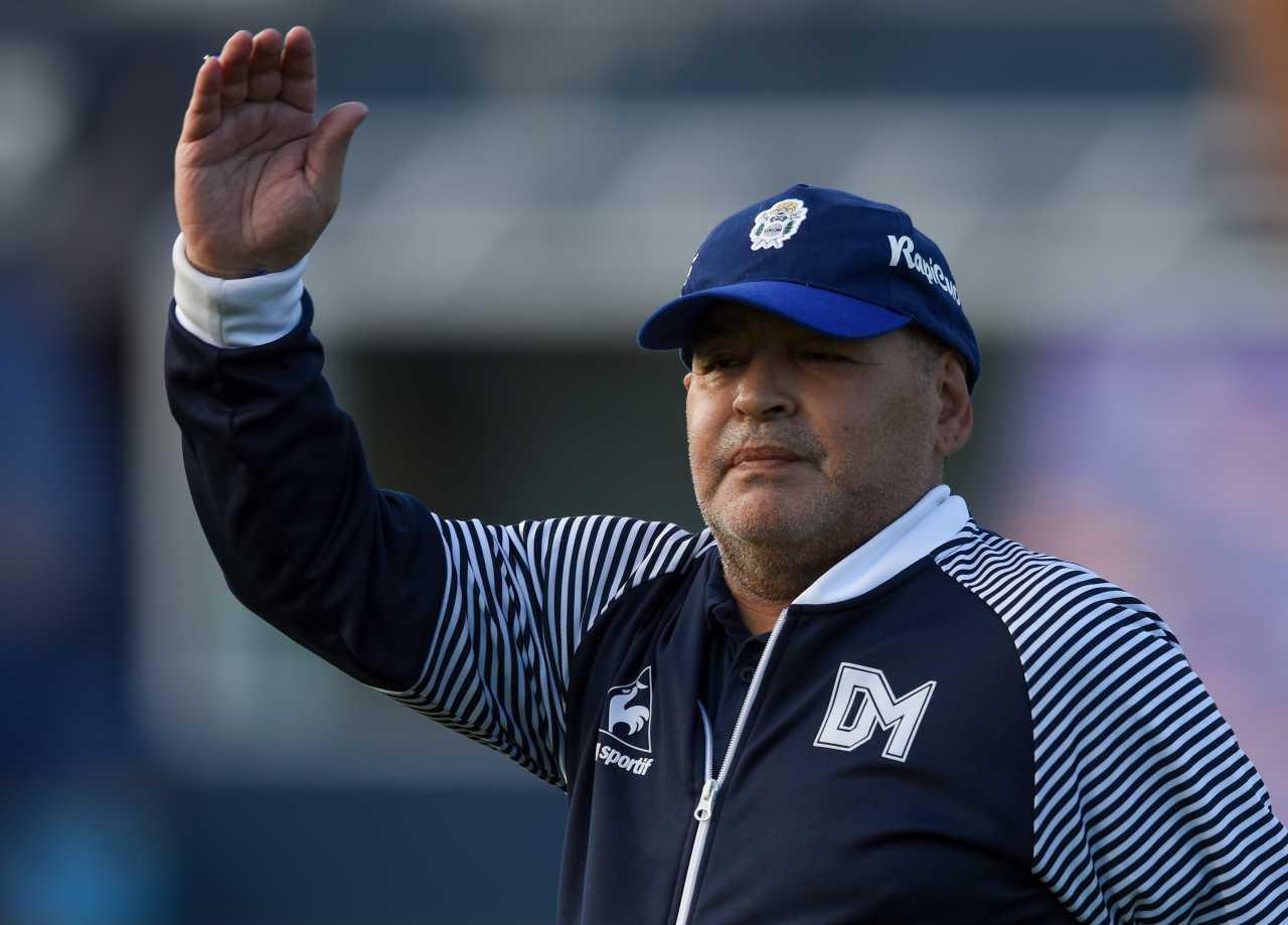Morte Maradona annuncio