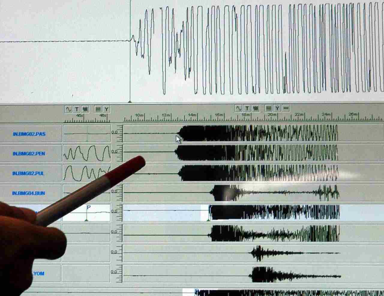 Terremoto in Taiwan