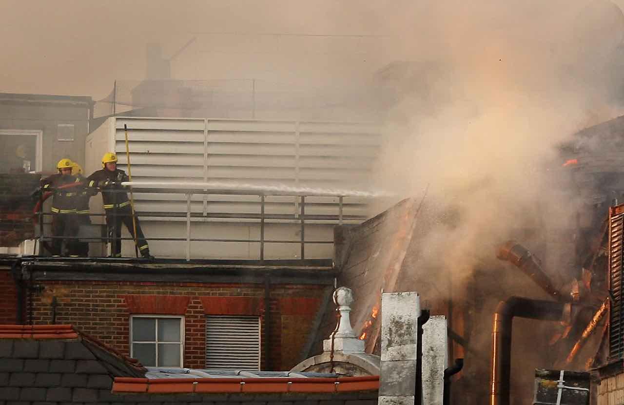 Incendio ospedale Covid