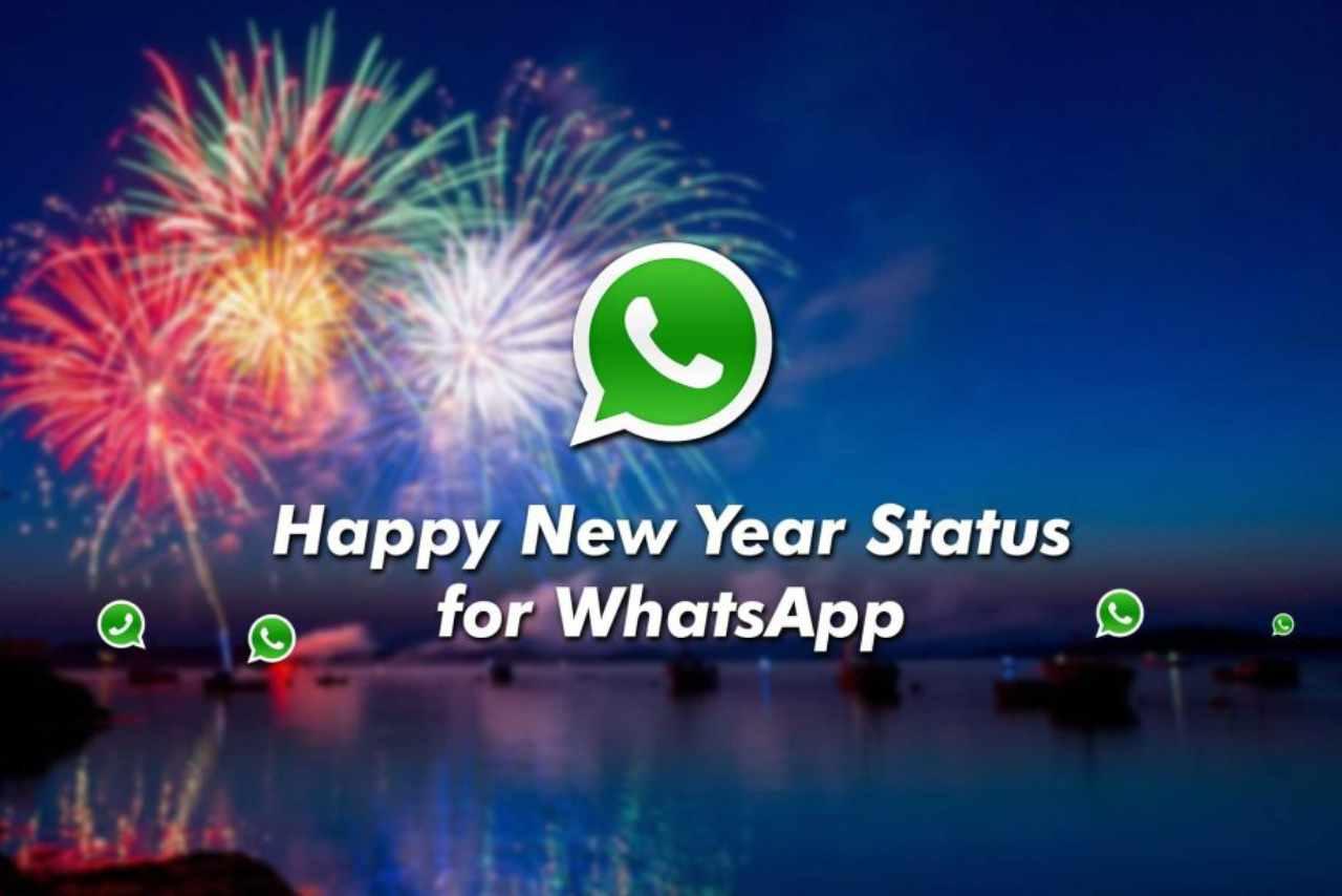WhatsApp buon anno