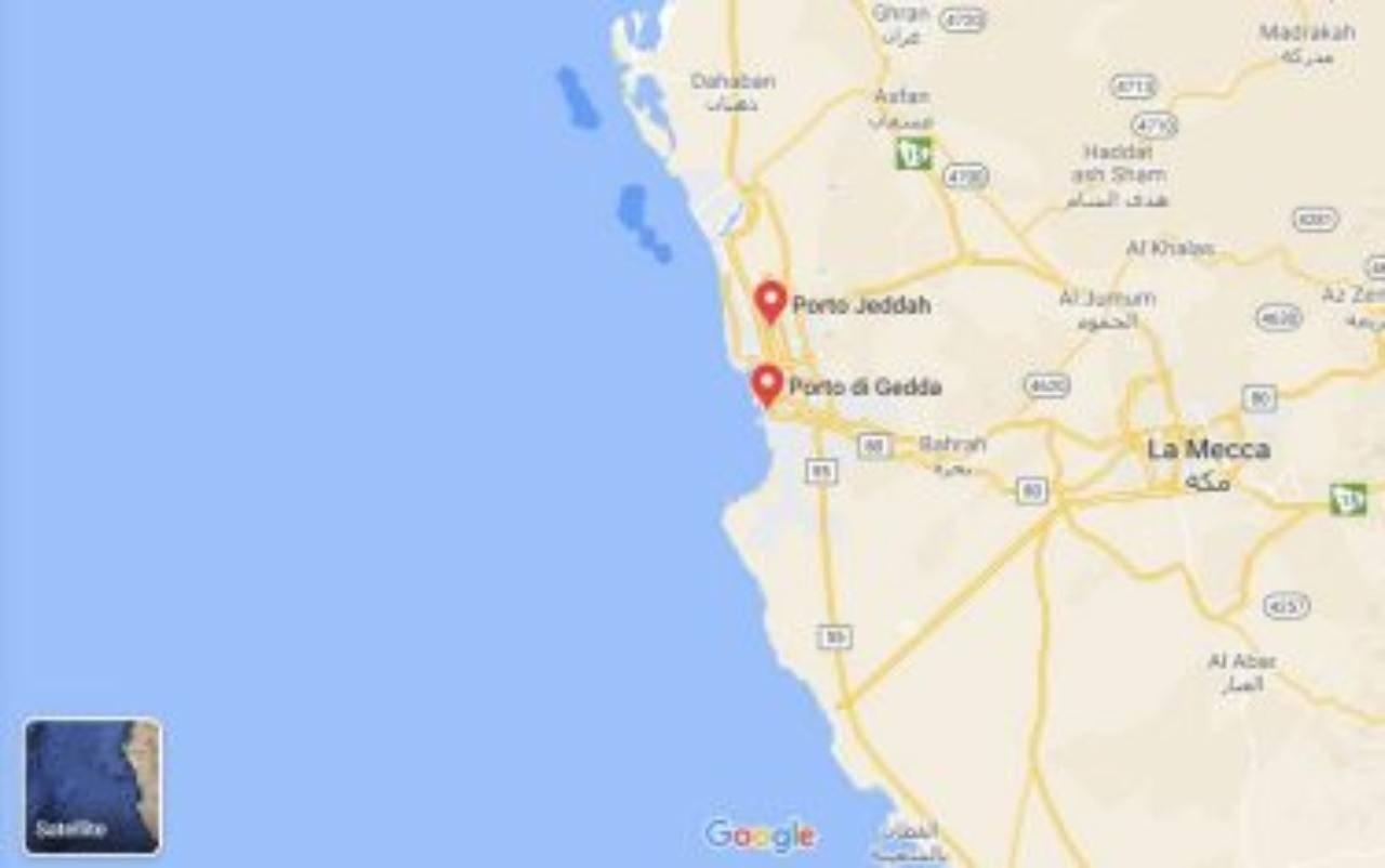 Arabia Saudita esplode petroliera