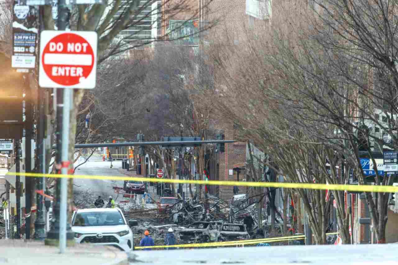 Nashville esplosione
