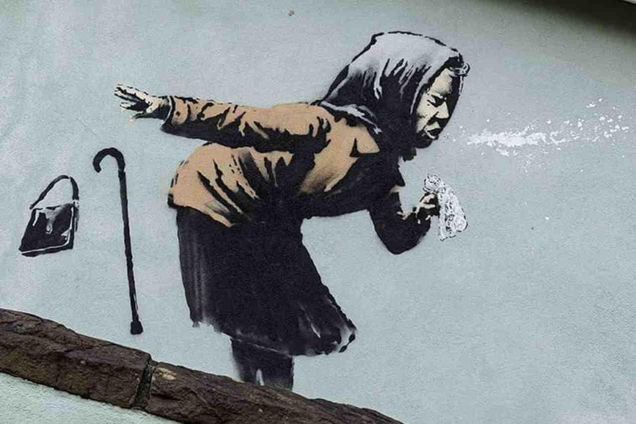 Banksy Murale