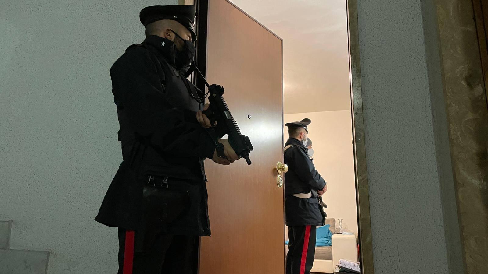 Operazione Carabinieri clan Senese