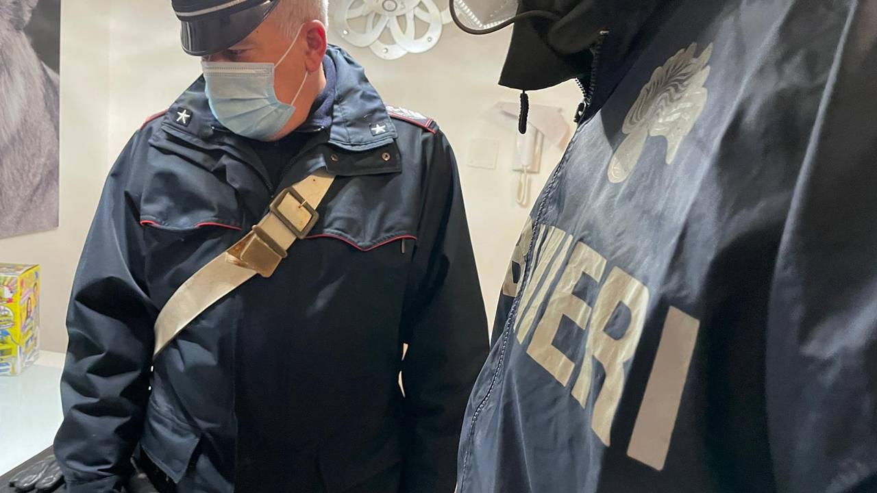 Operazione dei carabinieri Michele Senese