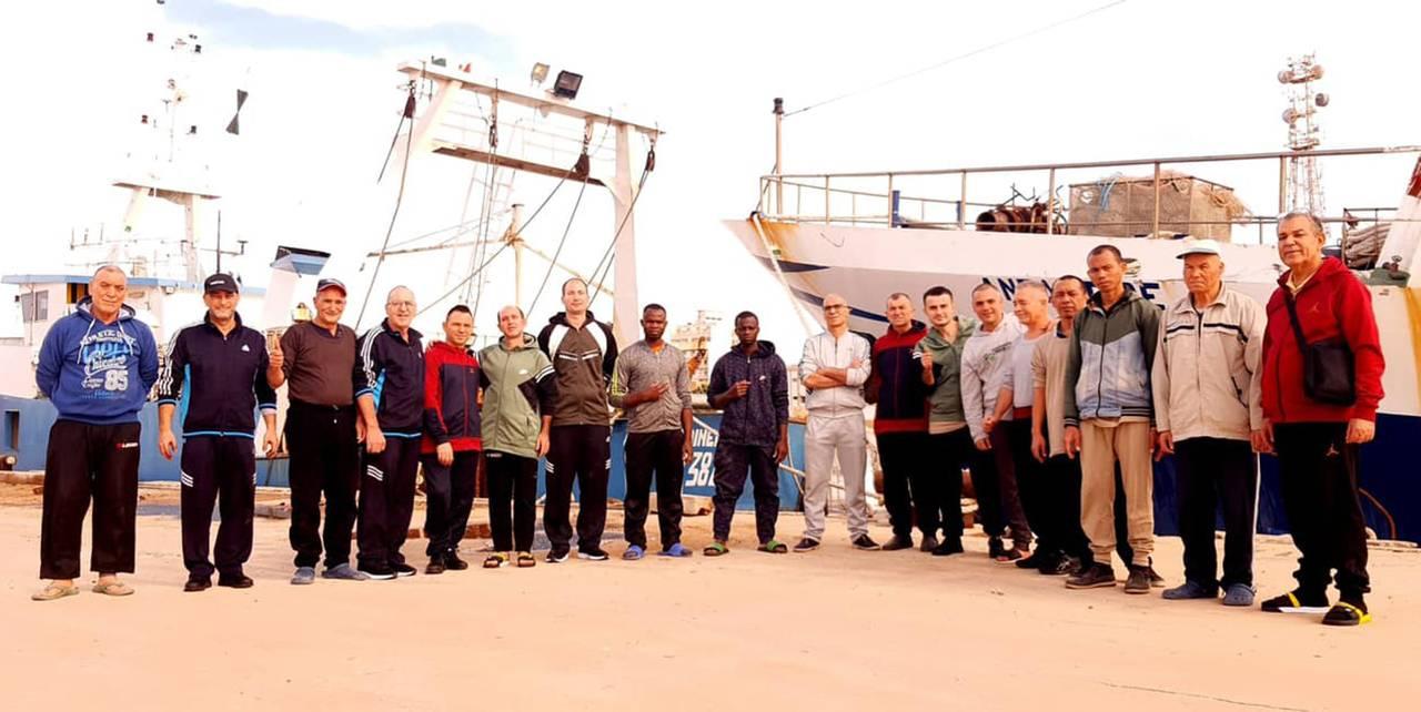 Pescatori liberati in Libia
