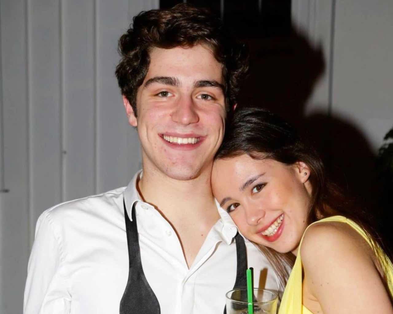 Tommaso Zorzi ed Aurora Ramazzotti