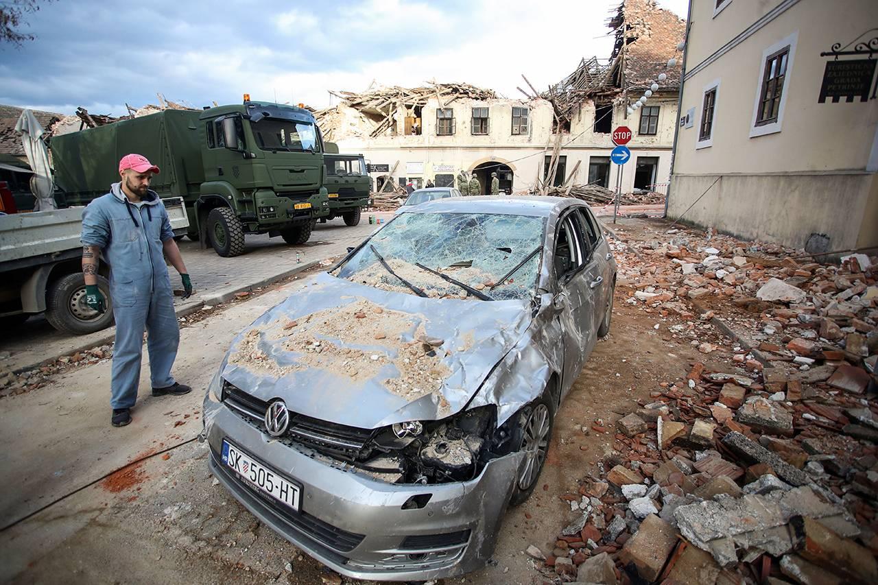 Terremoto Croazia - Foto Getty Images