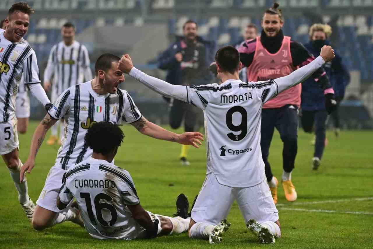 Juventus Bologna streaming gratis