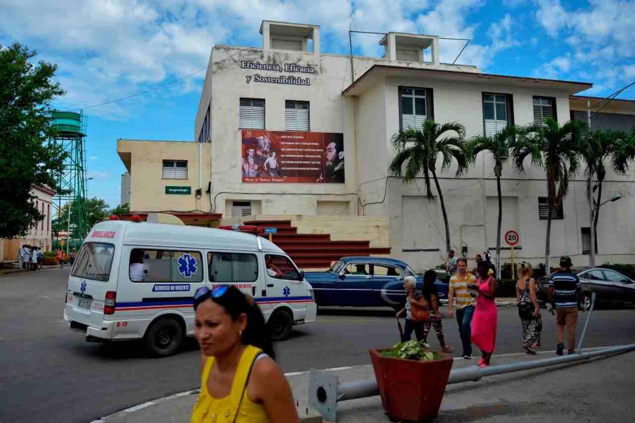 Cuba elicottero militare