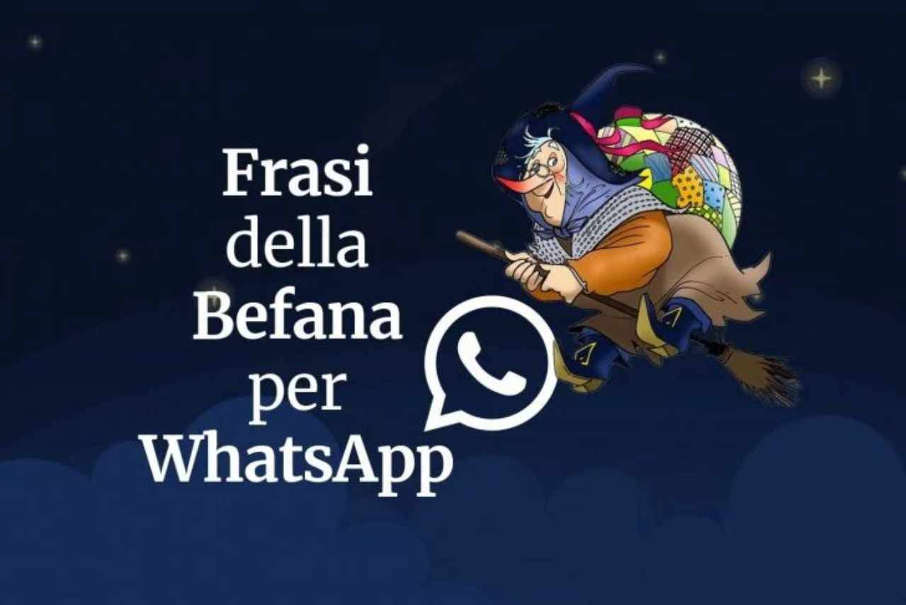 WhatsApp auguri Befana
