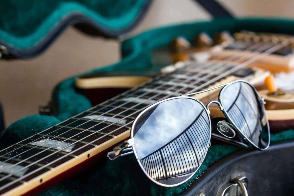 Musica sugli occhiali