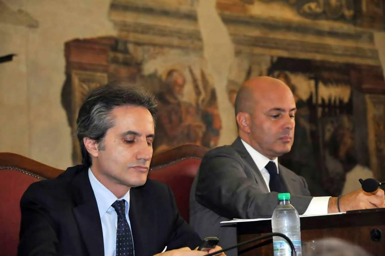 Stefano Caldoro, Antonio Pentangelo - Foto Facebook