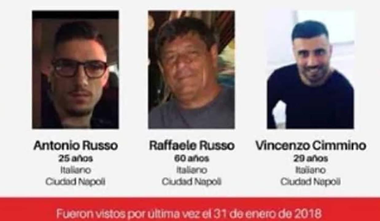 Raffaele e Antonio Russo e Vincenzo Cimmino - Fonte Web