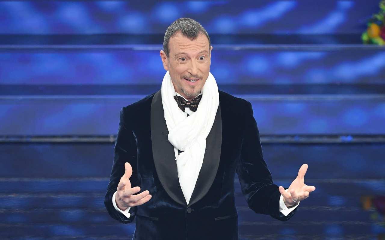 Sanremo 2021, proposta pazzesca di Amadeus: annuncio storico