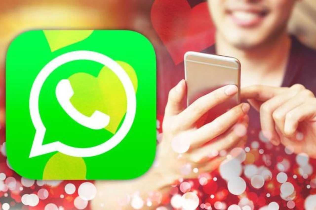 WhatsApp frasi immagini San Valentino