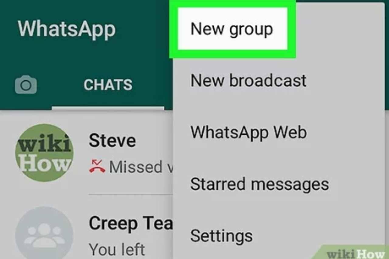 WhatsApp come inviare messaggi