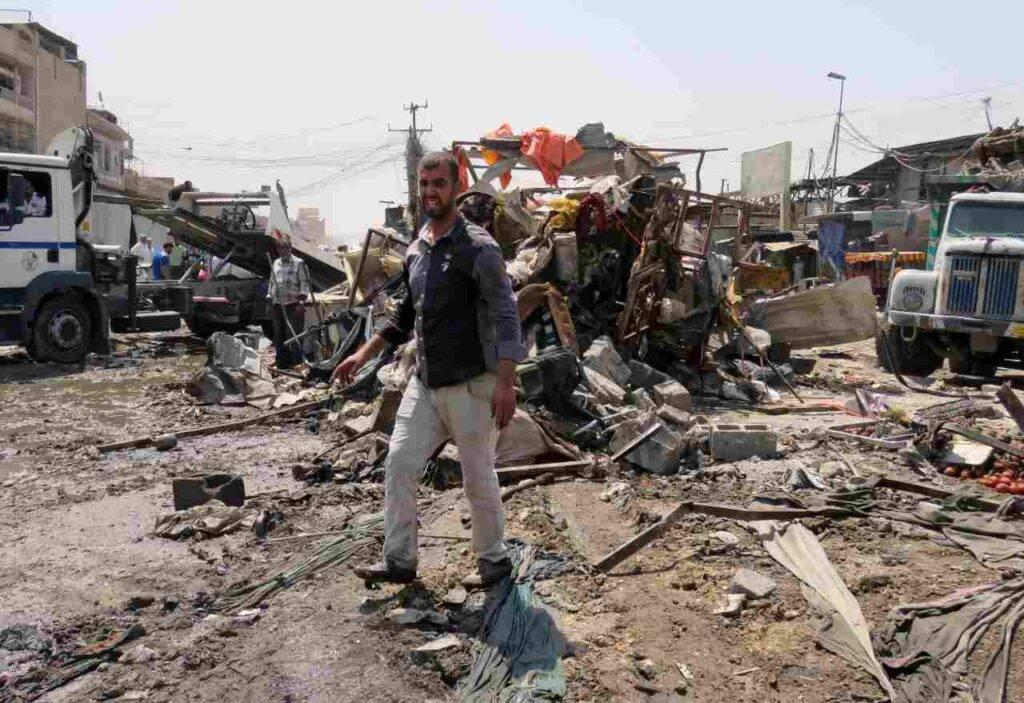 Iraq Bombe su Erbil