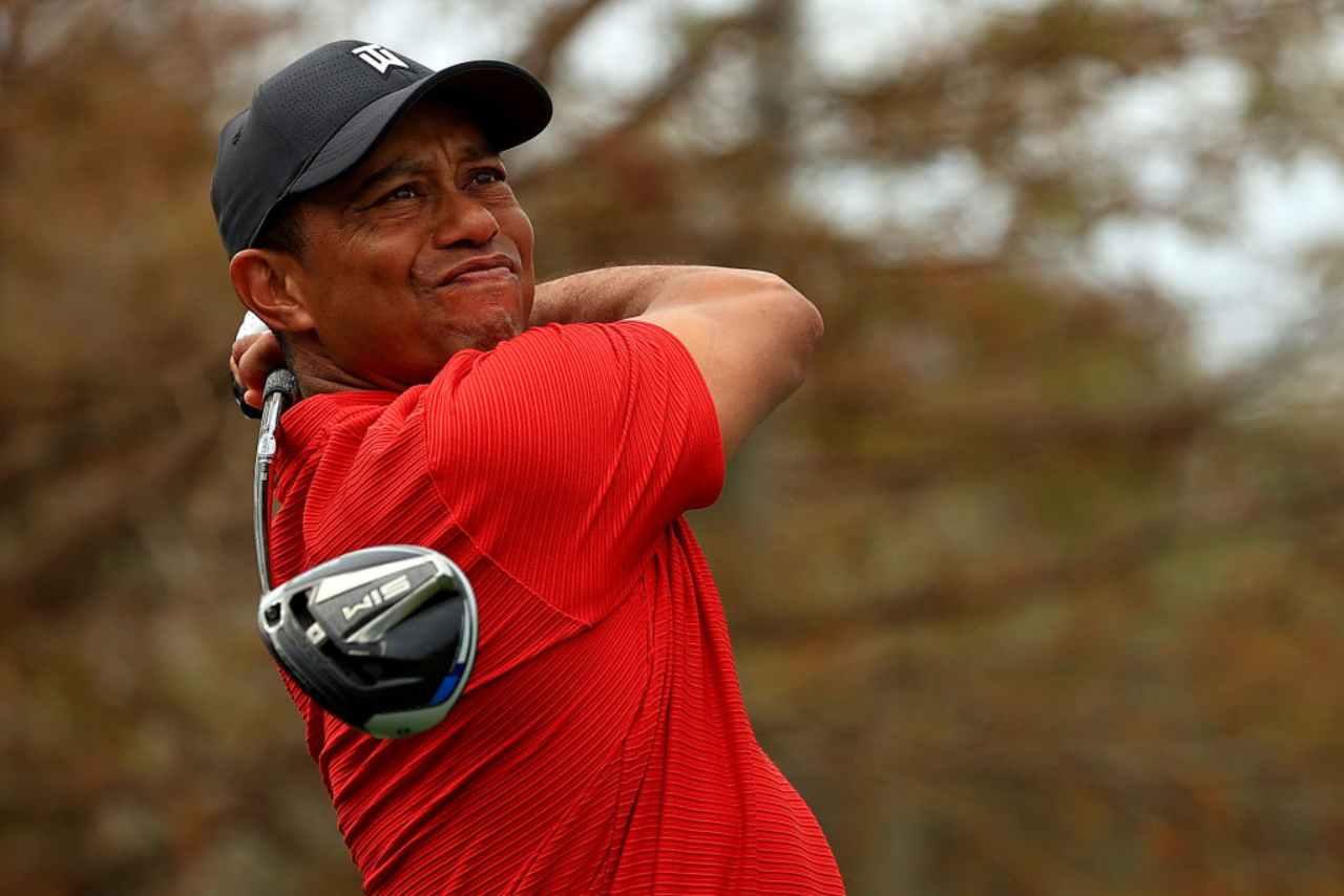 Tiger Woods condizioni