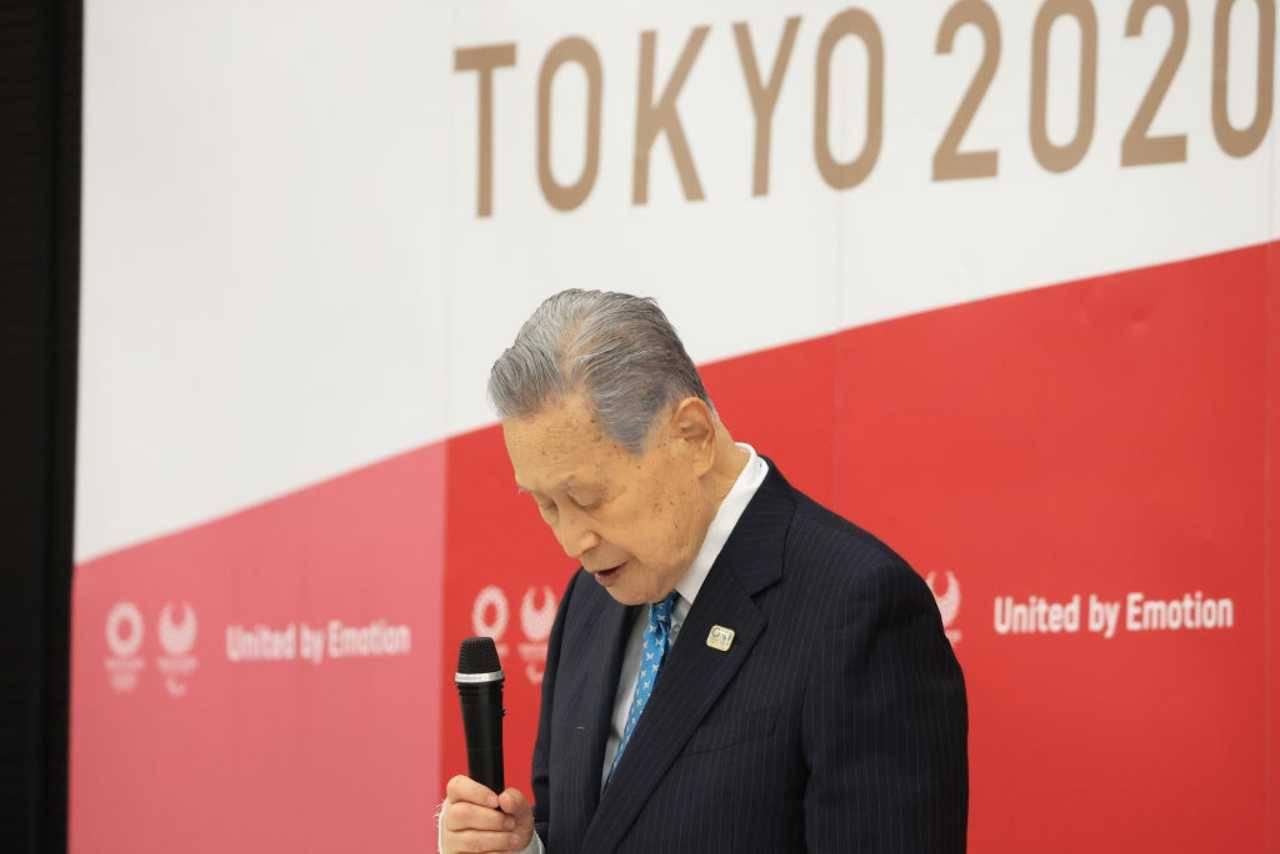 Tokyo 2020 Mori dimissioni