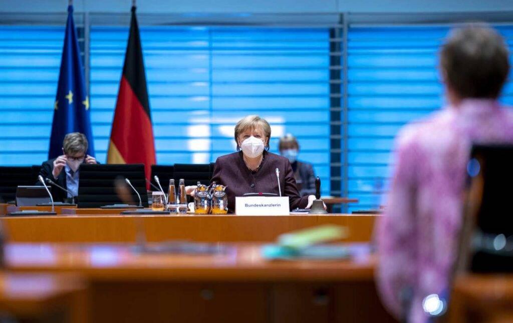 Merkel Covid