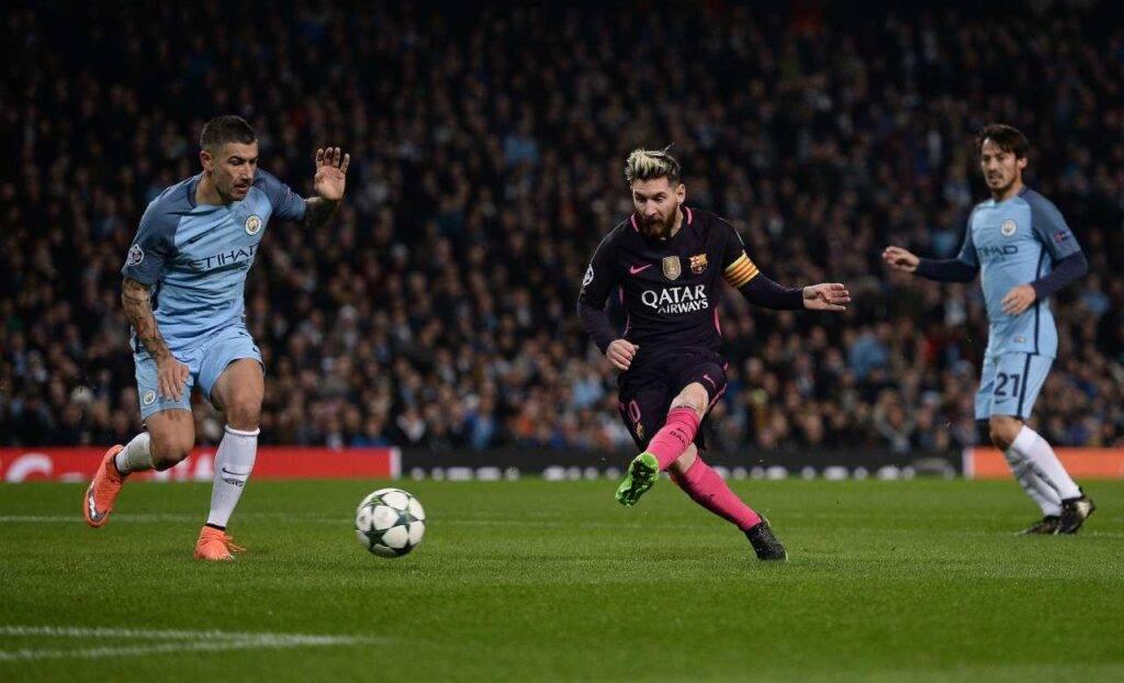 Messi Man City