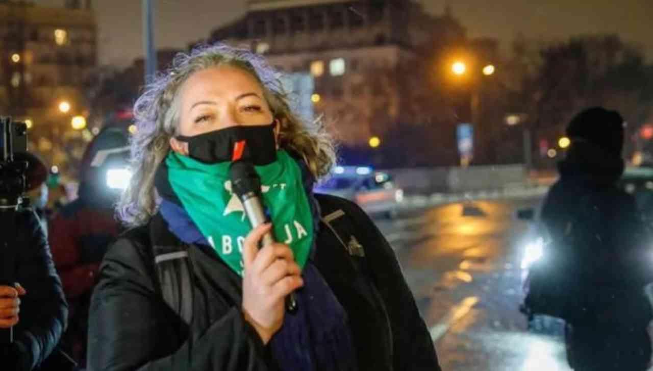 Aborto, l'organizzatrice delle proteste
