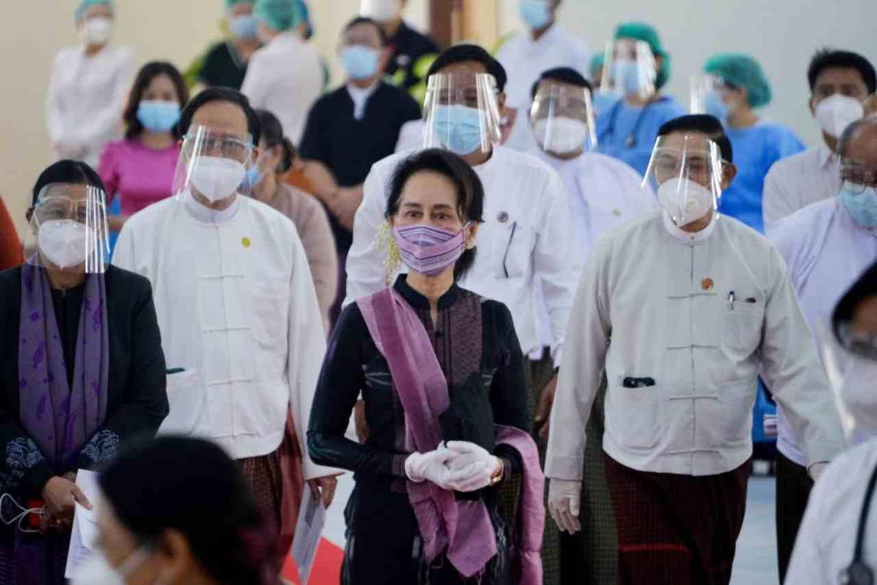 Myanmar colpo stato