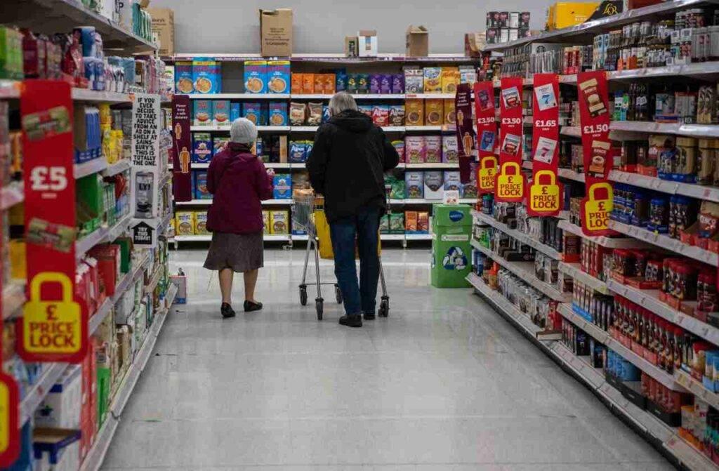 Supermercato senza mascherina