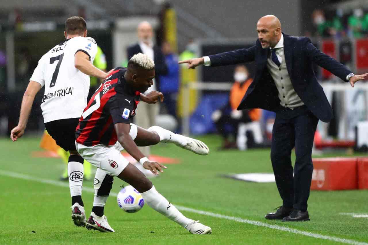 Spezia Milan streaming gratis