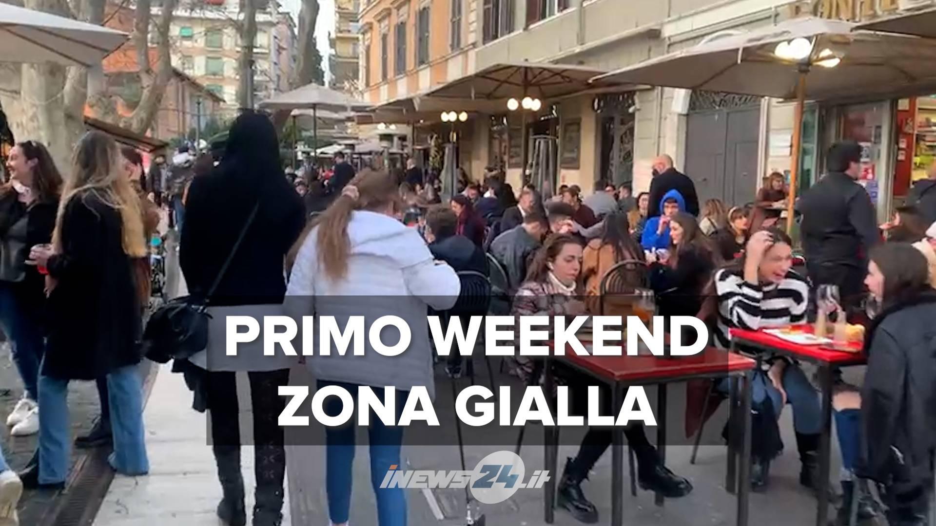 zona gialla roma