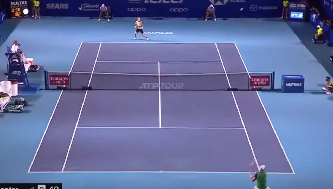 tennis terremoto