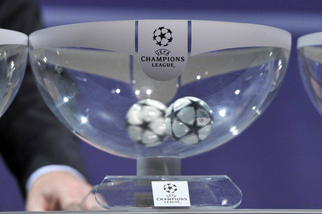 Sorteggi Champions League: l'urna di Nyon ripropone due finali