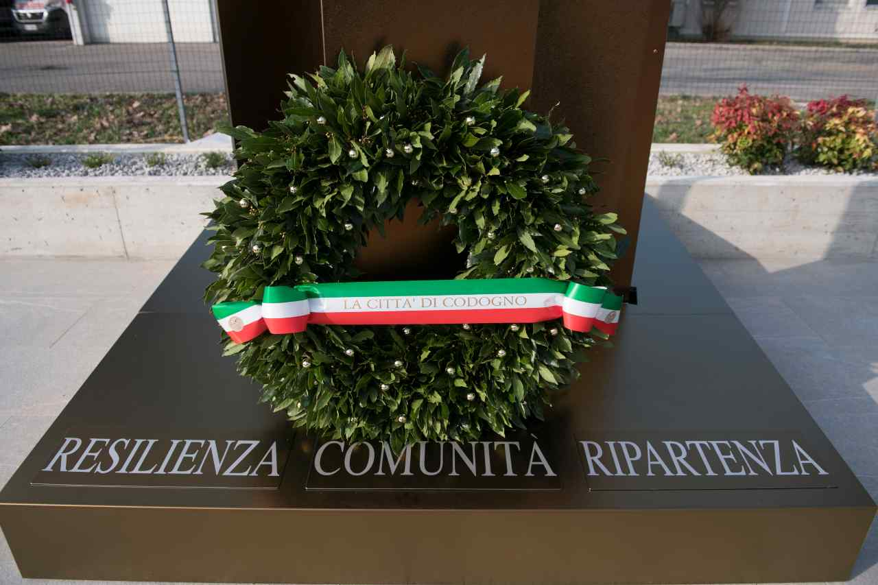 Bergamo, inaugurato il Bosco della Memoria