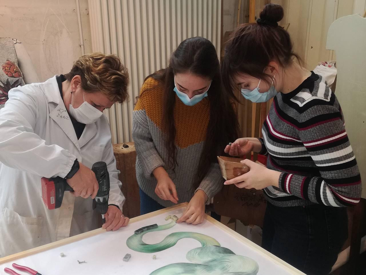 Dantedì, Liceo Artistico Nervi - Severini