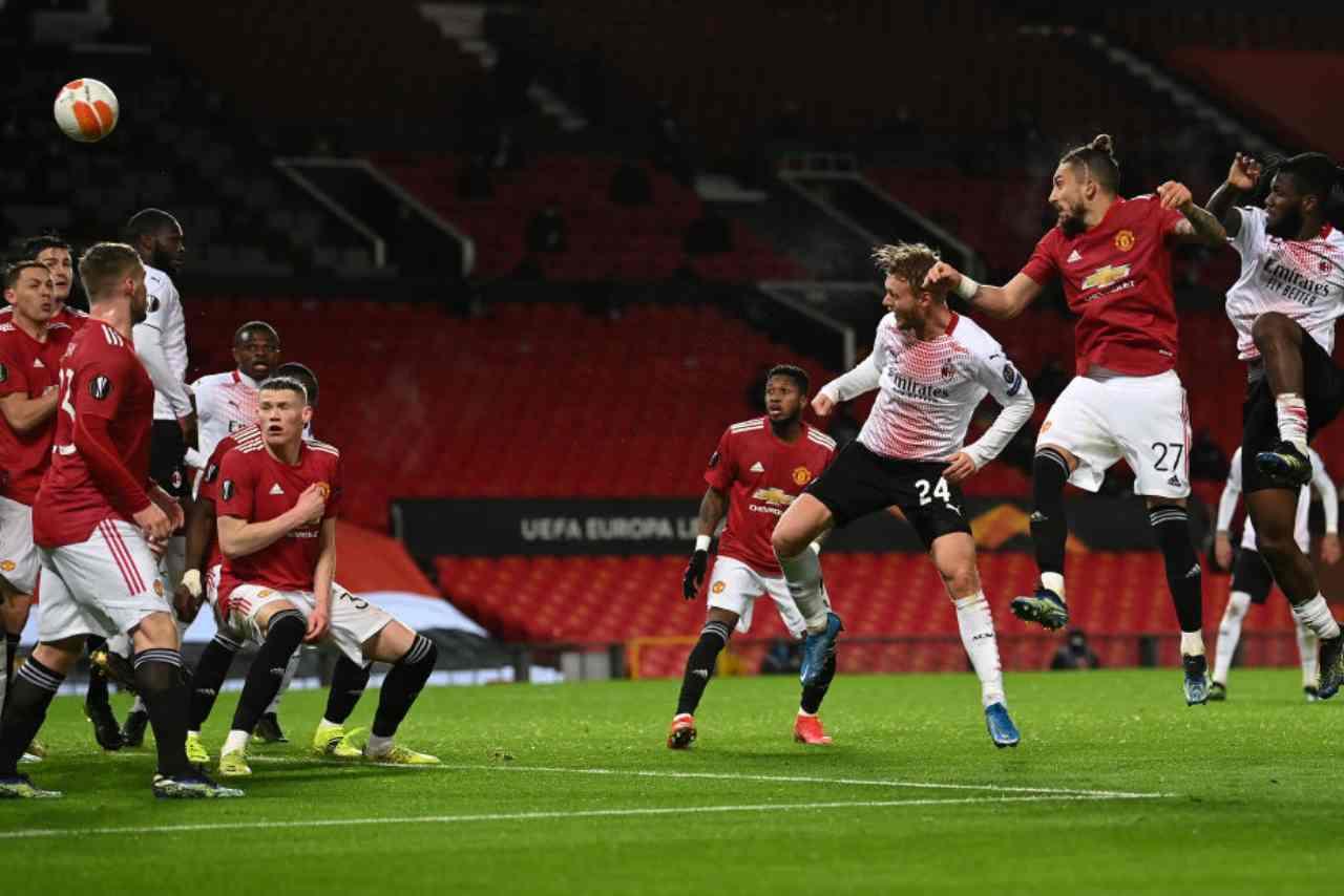 Milan Manchester United streaming gratis