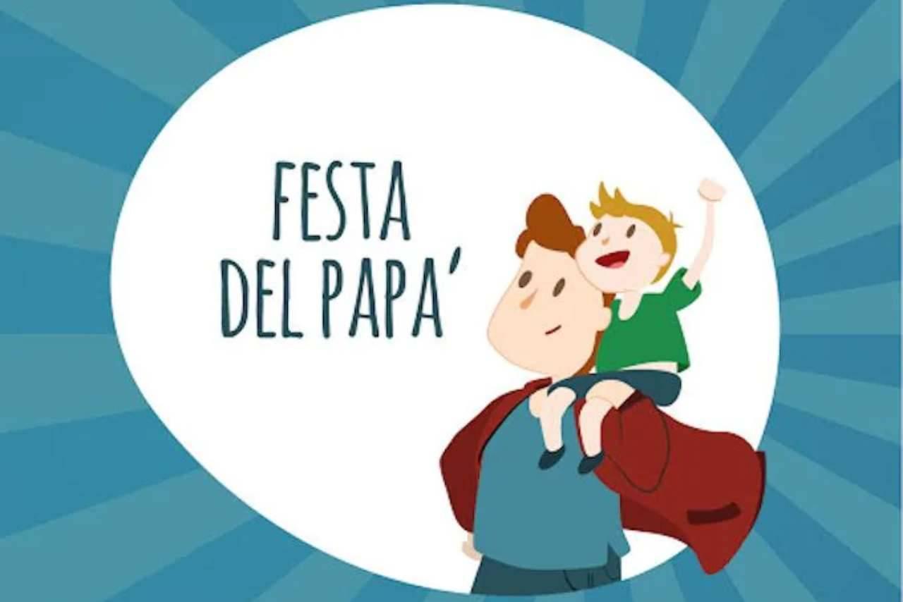 WhatsApp festa papà